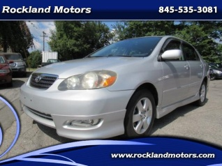 Good Used 2005 Toyota Corolla S Automatic For Sale In West Nyack, NY
