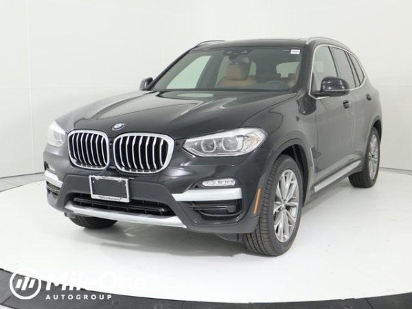 2019 bmw x3 xdrive30i awd for sale in silver spring md. Black Bedroom Furniture Sets. Home Design Ideas