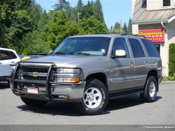 2001 Chevrolet Tahoe Reviews, Ratings, Prices - Consumer Reports