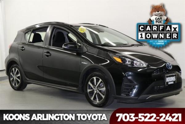 2018 Toyota Prius c Three