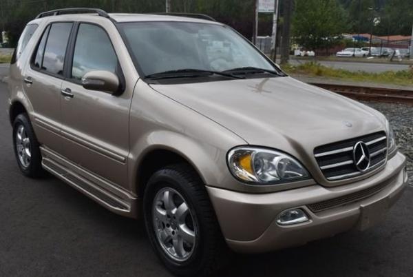 2002 Mercedes-Benz M-Class in Woodinville, WA