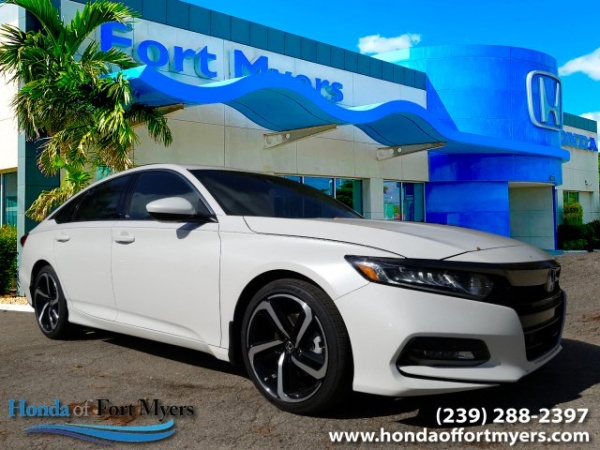Honda Of Fort Myers >> 2019 Honda Accord Sport 2 0t Manual For Sale In Fort Myers