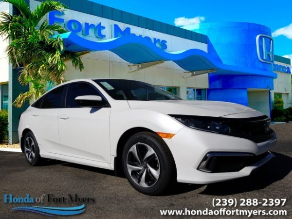 Honda Of Fort Myers >> 2019 Honda Civic Lx Sedan Cvt For Sale In Fort Myers Fl