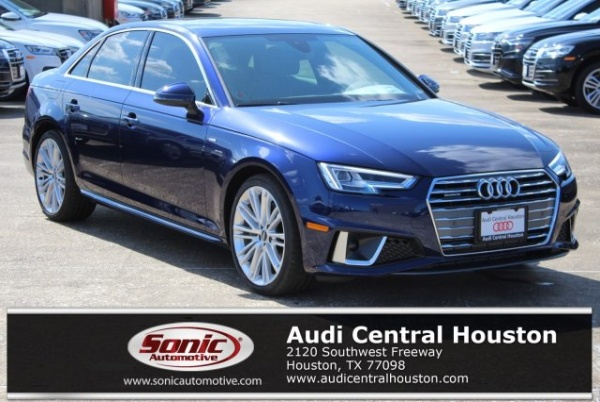 2019 Audi A4 in Houston, TX