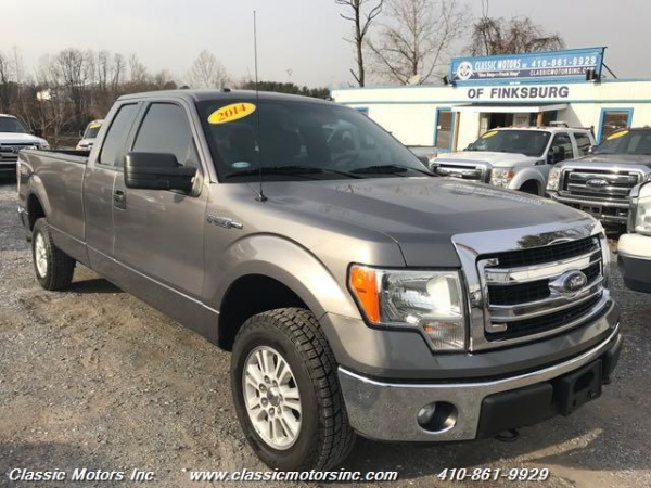 2014 Ford F 150 Xlt Hd Payload Package Supercab 80 Box 4wd