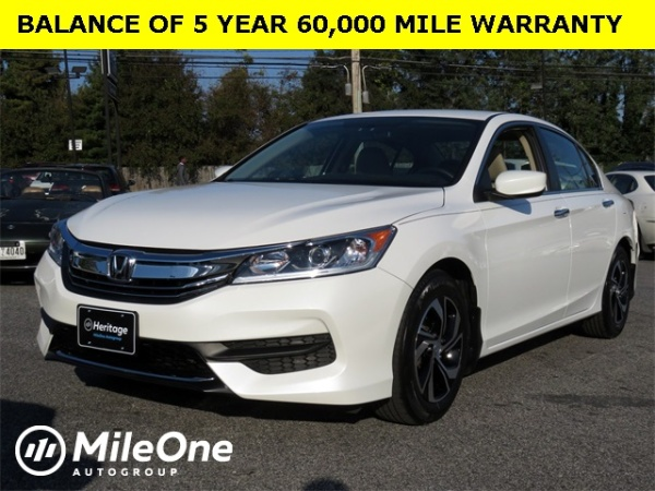 2016 Honda Accord In Owings Mills Md