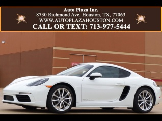 Used Porsche 718 Cayman for Sale in Houston, TX | 1 Used 718