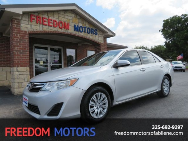 used toyota camry for sale in abilene tx u s news world report. Black Bedroom Furniture Sets. Home Design Ideas