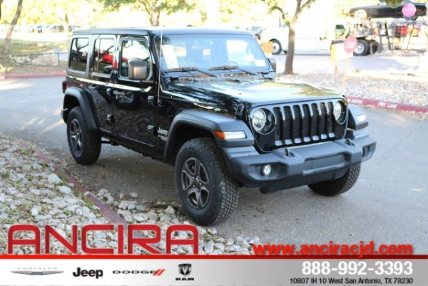2019 Jeep Wrangler in San Antonio, TX
