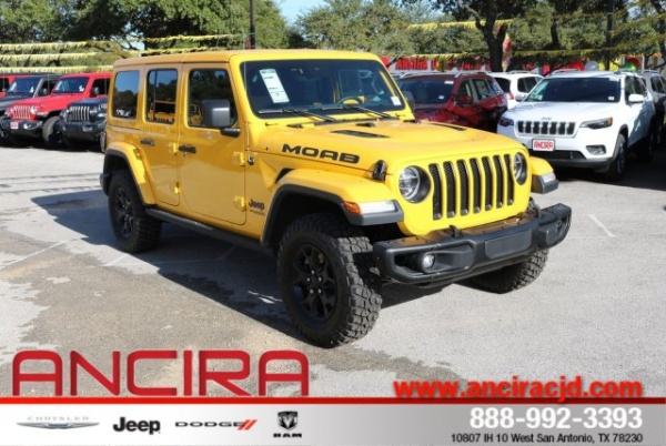 San Antonio Jeep >> 2019 Jeep Wrangler Unlimited Moab For Sale In San Antonio
