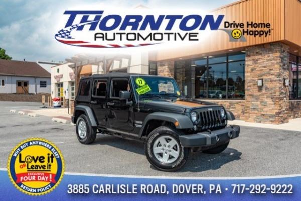 2017 Jeep Wrangler in Dover, PA