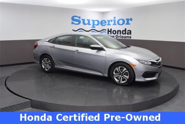 2018 Honda Civic in Harvey, LA
