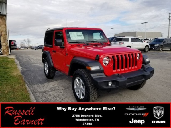 2019 Jeep Wrangler in Winchester, TN
