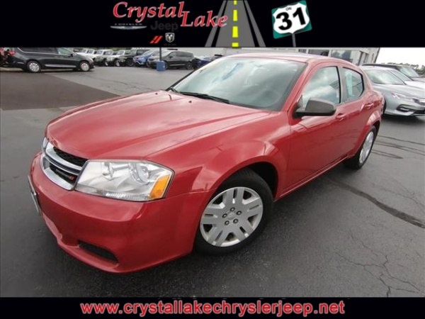 Crystal Lake Dodge >> 2012 Dodge Avenger Se Fwd For Sale In Crystal Lake Il Truecar