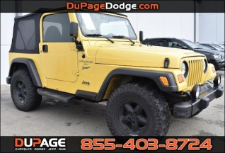 Used 2000 Jeep Wrangler Sport For Sale In Glendale Heights, IL