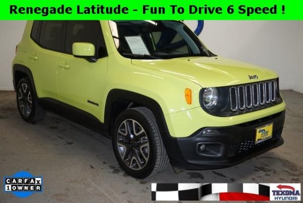 2018 Jeep Renegade in Sherman, TX