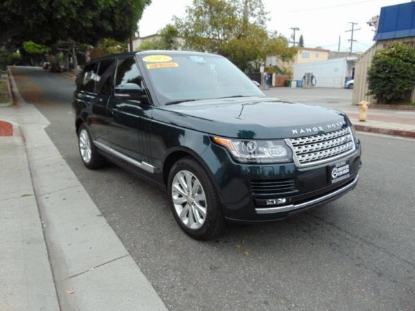 Land Rover Santa Monica >> 2015 Land Rover Range Rover Hse For Sale In Santa Monica Ca