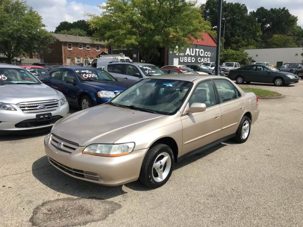 Cars For Sale Louisville Ky >> 2002 Honda Accord Lx Sedan Automatic For Sale In Louisville