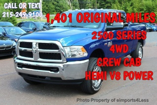 2016 Ram 2500 Tradesman Crew Cab 6 4 Box 4wd For