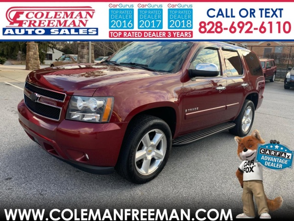 2008 Chevrolet Tahoe Lt With 3lt Rwd For Sale In