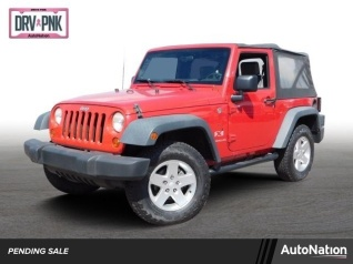 Used 2007 Jeep Wrangler X 4WD For Sale In North Phoenix, AZ