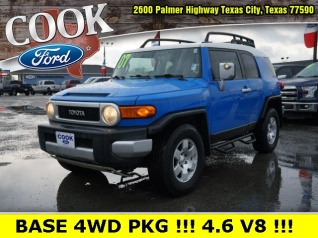 2007 Toyota Fj Cruiser 4wd Manual For In Texas City Tx