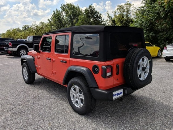 2018 Jeep Wrangler Unlimited Sport S Jl For Sale In Westminster