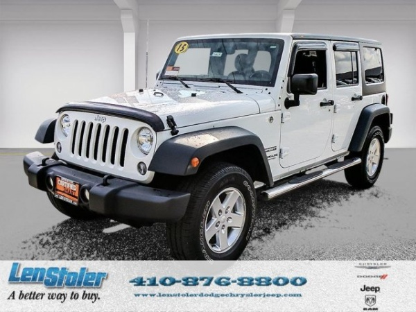 2015 Jeep Wrangler in Westminster, MD
