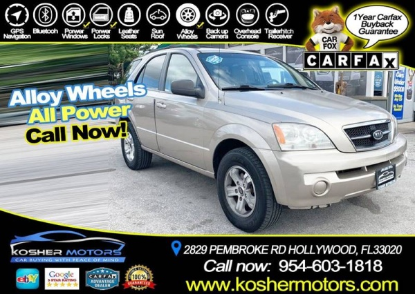 2005 Kia Sorento in Hollywood, FL