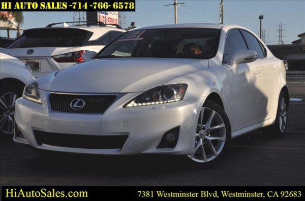 2011 Lexus IS in Westminster, CA