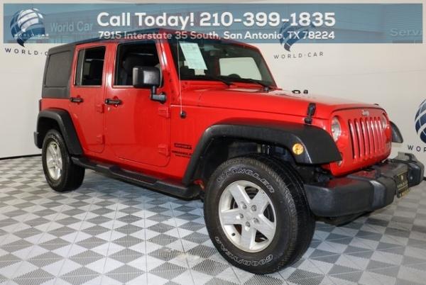 2015 Jeep Wrangler in San Antonio, TX
