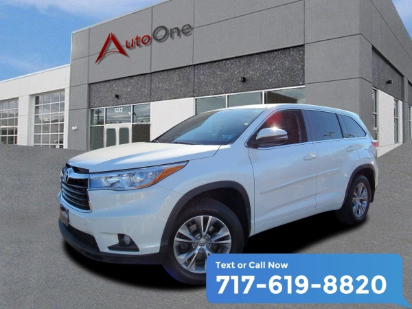 Toyota Lancaster Pa >> 2015 Toyota Highlander Le Plus V6 Awd For Sale In Lancaster Pa