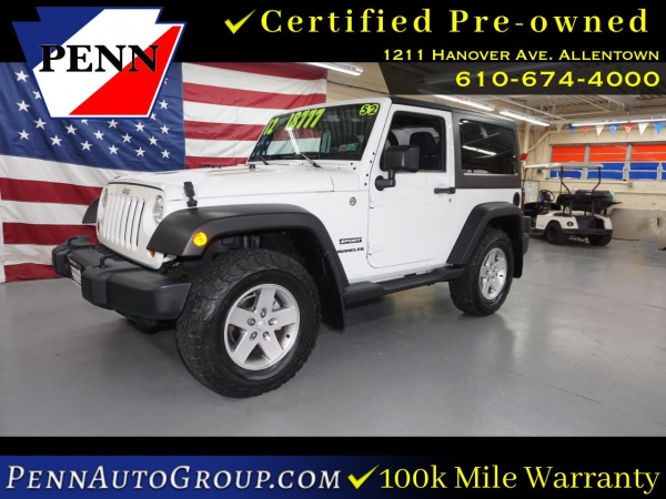 2012 Jeep Wrangler in Allentown, PA
