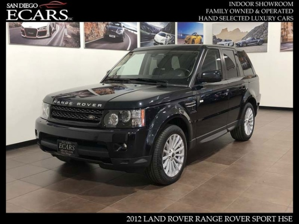 2012 land rover range rover sport hse for sale in san diego, ca