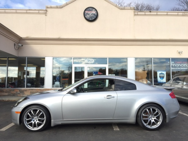 2005 infiniti g g35 coupe rwd manual for sale in shrewsbury ma truecar. Black Bedroom Furniture Sets. Home Design Ideas