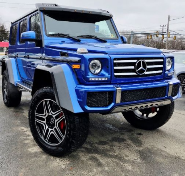 2018 Mercedes-Benz G-Class G 550 4x4 Squared For Sale In