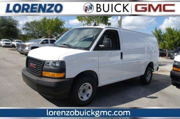 2020 GMC Savana Cargo Van