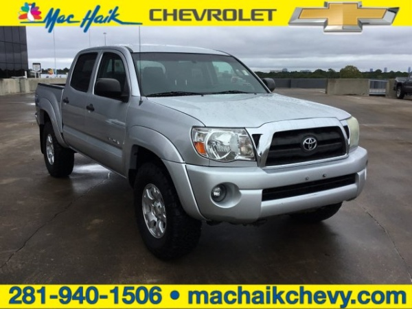 2008 Toyota Tacoma Double Cab 5' Bed V6 4WD Automatic