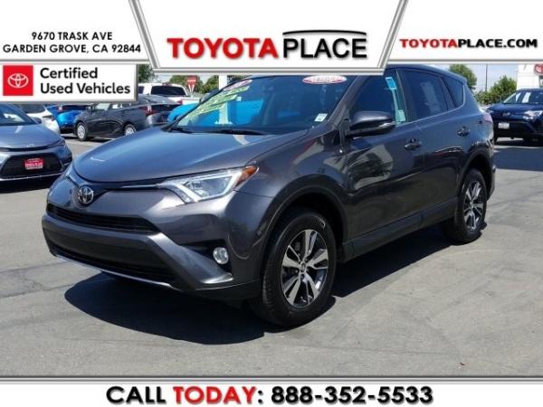 2018 Toyota RAV4 in Garden Grove, CA