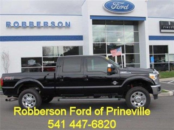 Robberson Ford Bend Or >> 2016 Ford Super Duty F 350 Platinum Crew Cab 156 4wd For