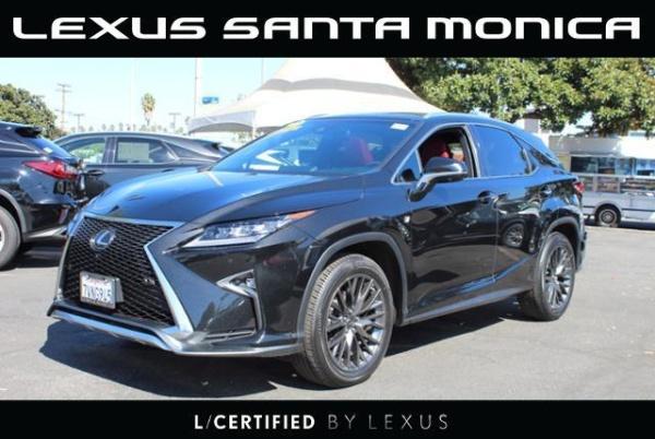 2017 Lexus RX in Santa Monica, CA
