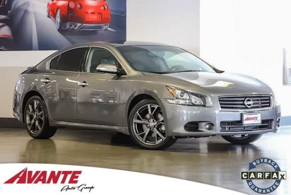 2014 Nissan Maxima 3.5 SV W/ Sport ... $19,588 San Francisco, CA