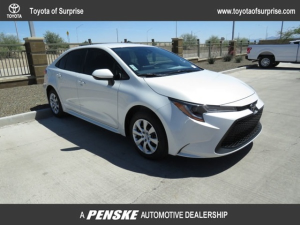 Toyota Of Surprise >> 2020 Toyota Corolla Le Cvt For Sale In Surprise Az Truecar