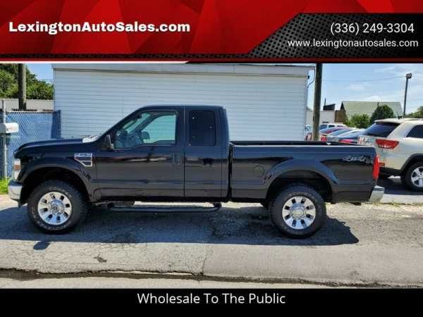 2008 Ford Super Duty F 250 Lariat Supercab 142 4wd For Sale