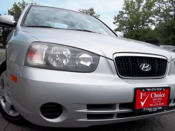 2003 hyundai elantra gls sedan automatic for sale in fairfax va truecar truecar