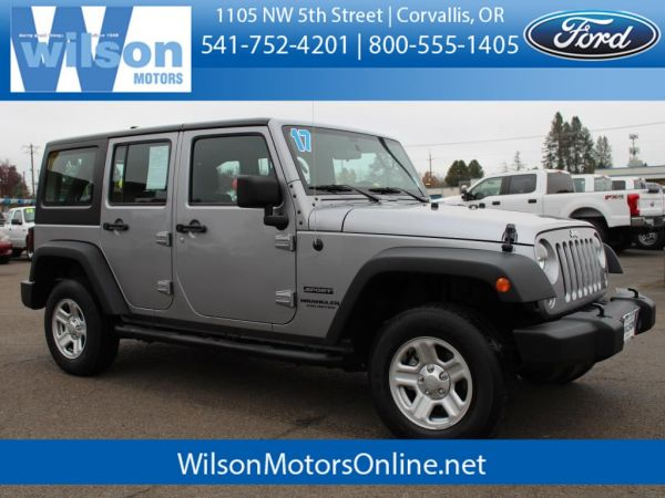 2017 Jeep Wrangler in Corvallis, OR