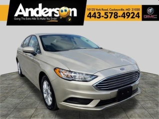 2017 Ford Fusion S Fwd For In Eysville Md