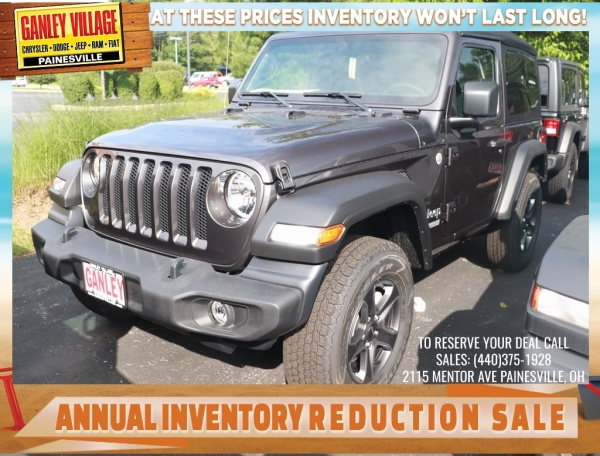 2019 Jeep Wrangler in Painesville, OH