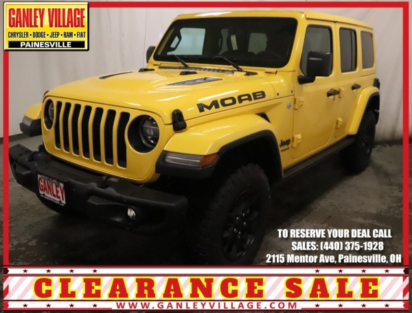 2019 Jeep Wrangler Moab