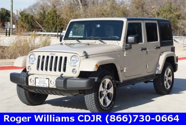 2016 Jeep Wrangler in Weatherford, TX